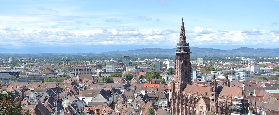 Freiburg Luftbild